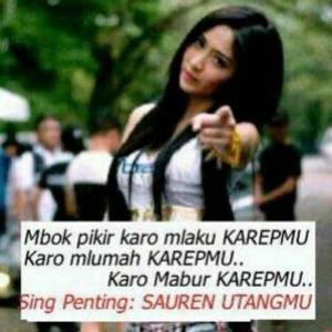100 Gambar DP BBM Bahasa Jawa Kocak Lucu & Gokil 14