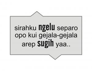 100 Gambar DP BBM Bahasa Jawa Kocak Lucu & Gokil 16