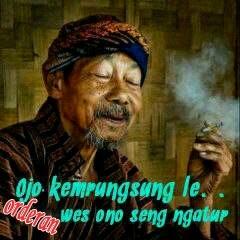 100 Gambar DP BBM Bahasa Jawa Kocak Lucu & Gokil 17
