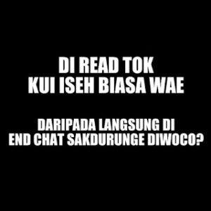 100 Gambar DP BBM Bahasa Jawa Kocak Lucu & Gokil 28