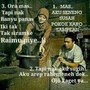 100 Gambar DP BBM Bahasa Jawa Kocak Lucu & Gokil 33