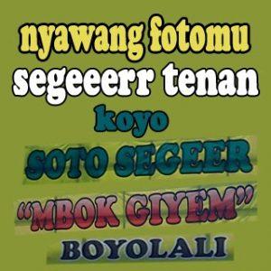100 Gambar DP BBM Bahasa Jawa Kocak Lucu & Gokil 37