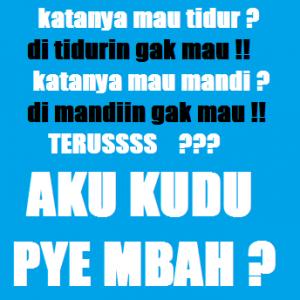 100 Gambar DP BBM Bahasa Jawa Kocak Lucu & Gokil 39