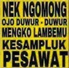 100 Gambar DP BBM Bahasa Jawa Kocak Lucu & Gokil 40