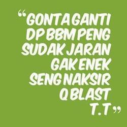 100 Gambar DP BBM Bahasa Jawa Kocak Lucu & Gokil 47