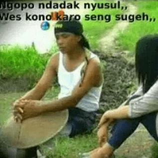 Dp Bbm Bahasa Jawa Kocak Lucu Gokil