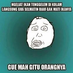 100 Gambar DP BBM Meme Kocak & Lucu Abis 6