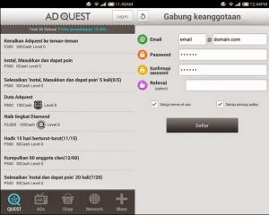 Cara Cepat Menghasilkan Uang Dari Aplikasi Android aplikasi adquest