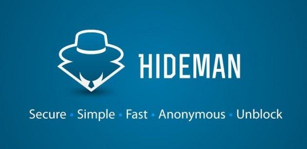 aplikasi hideman vpn untuk membuka situs terblokir di Hp Android