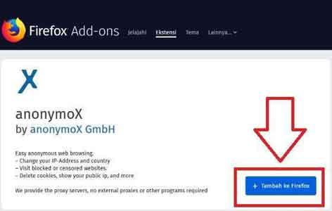 cara buka situs terblokir dengan anonymox