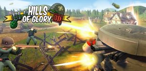 game perang Hills of Glory 3D