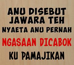 50 Gambar DP BBM Bahasa Sunda Terbaru 2016 7