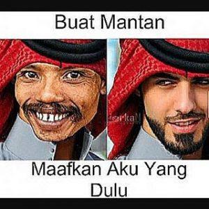 50 Gambar DP BBM Meme Mantan Maafkan Aku Yang Dulu 10