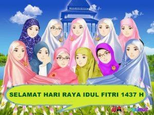 70 Gambar DP BBM Bergerak Selamat Idul Fitri 1437 H 14