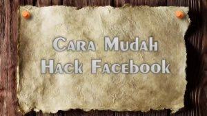 Cara Bobol Password Facebook Orang Lain Dengan Mudah