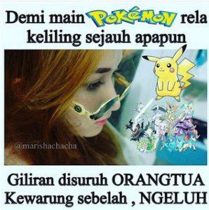 30 Gambar DP BBM Pokemon GO Lucu Kocak & Gokil 22