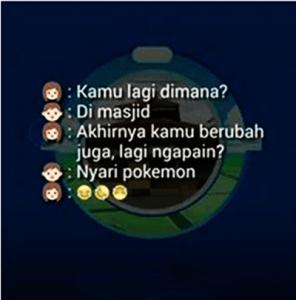 30 Gambar DP BBM Pokemon GO Lucu Kocak & Gokil 23