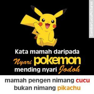 30 Gambar DP BBM Pokemon GO Lucu Kocak & Gokil 8