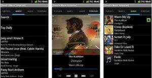 10 Aplikasi Pemutar Musik Android Keren terpopuler