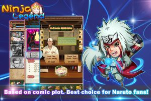 10 Game Naruto Android Terbaik 2016 ninja legend