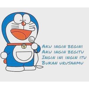 Gambar DP BBM Doraemon Lucu & Gokil 1