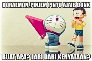 Gambar DP BBM Doraemon Lucu & Gokil 12