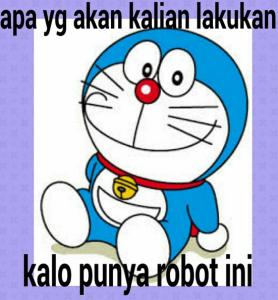 Gambar DP BBM Doraemon Lucu & Gokil 3