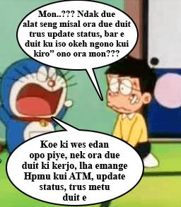 Gambar DP BBM Doraemon Lucu & Gokil