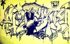 50 Gambar Grafiti Paling Keren Terbaru 2017 14