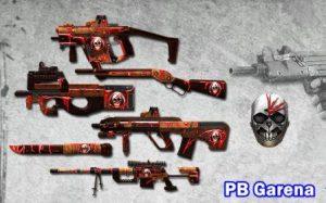 senjata gratis pb garena