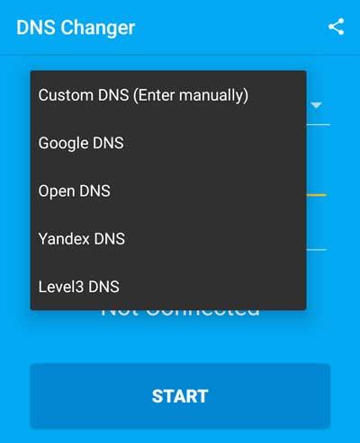 Mengubah DNS untuk buka situs diblokir di Android